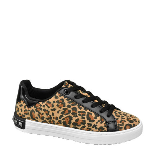 Graceland sneakers met panterprint
