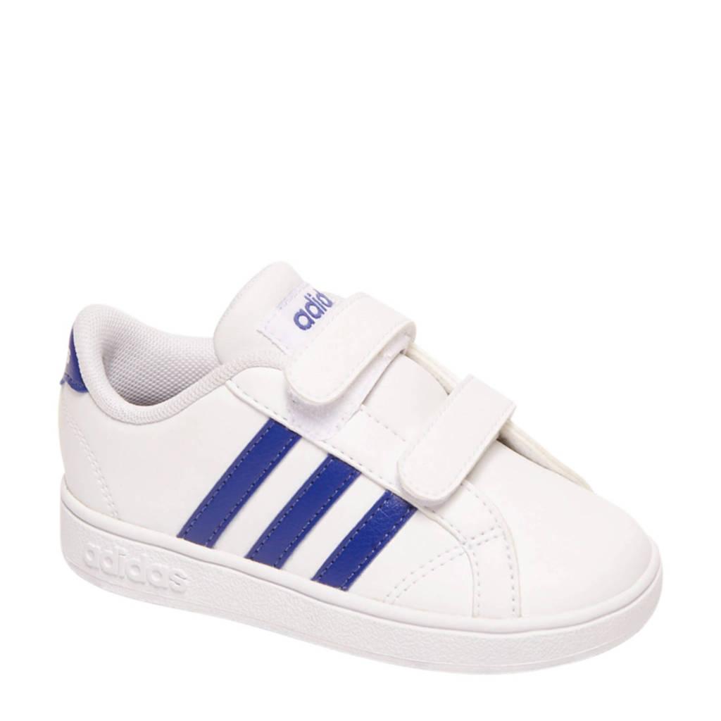 adidas   Baseline 1 sneakers wit/blauw, Wit/blauw