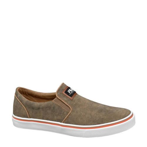 Fila slip-on sneakers bruin
