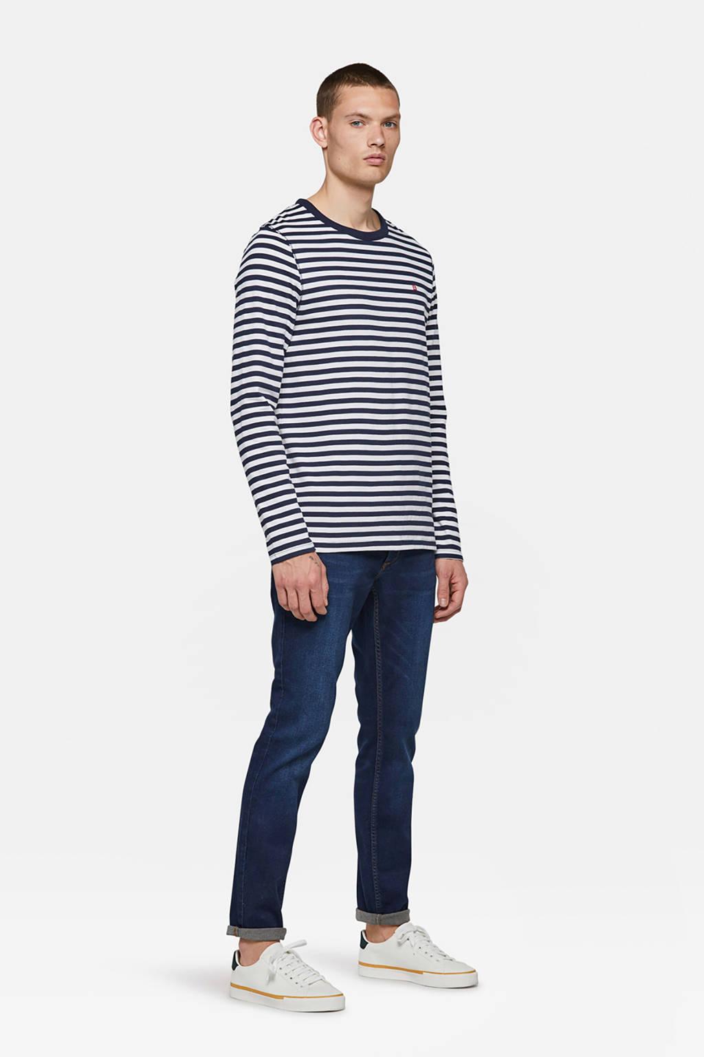 WE Fashion Blue Ridge slim fit jeans Dex Sloane, Dark denim