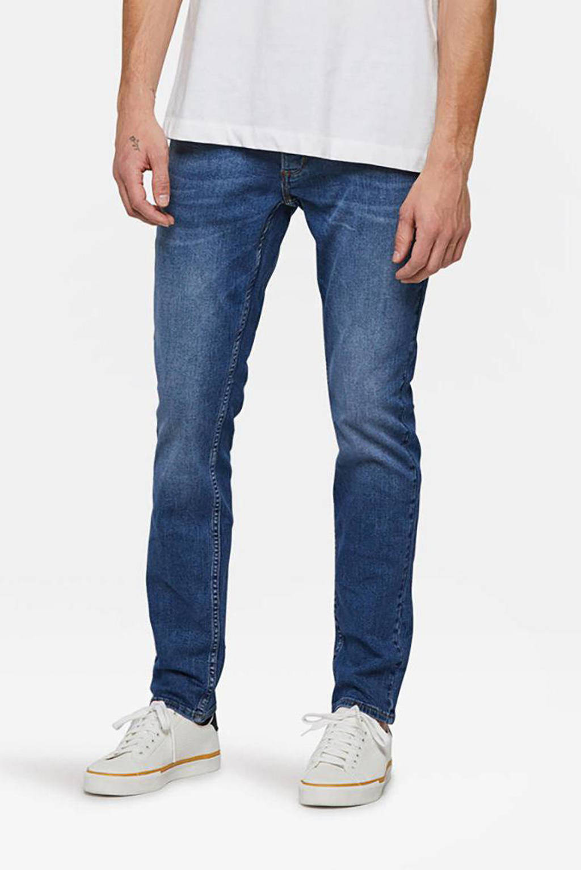 WE Fashion Blue Ridge slim fit jeans Dex Sloane mid blue, Mid blue