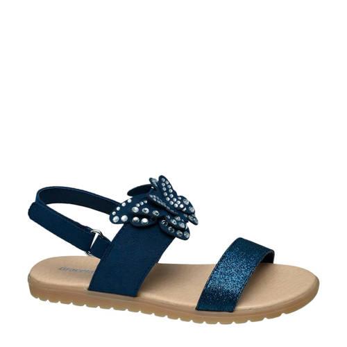 Graceland sandalen blauw kopen
