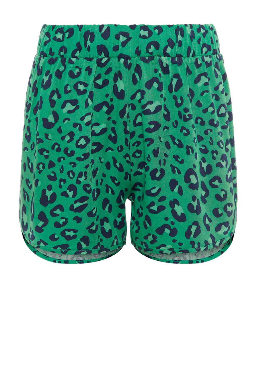 LMTD short Havi met dierenprint groen, Groen