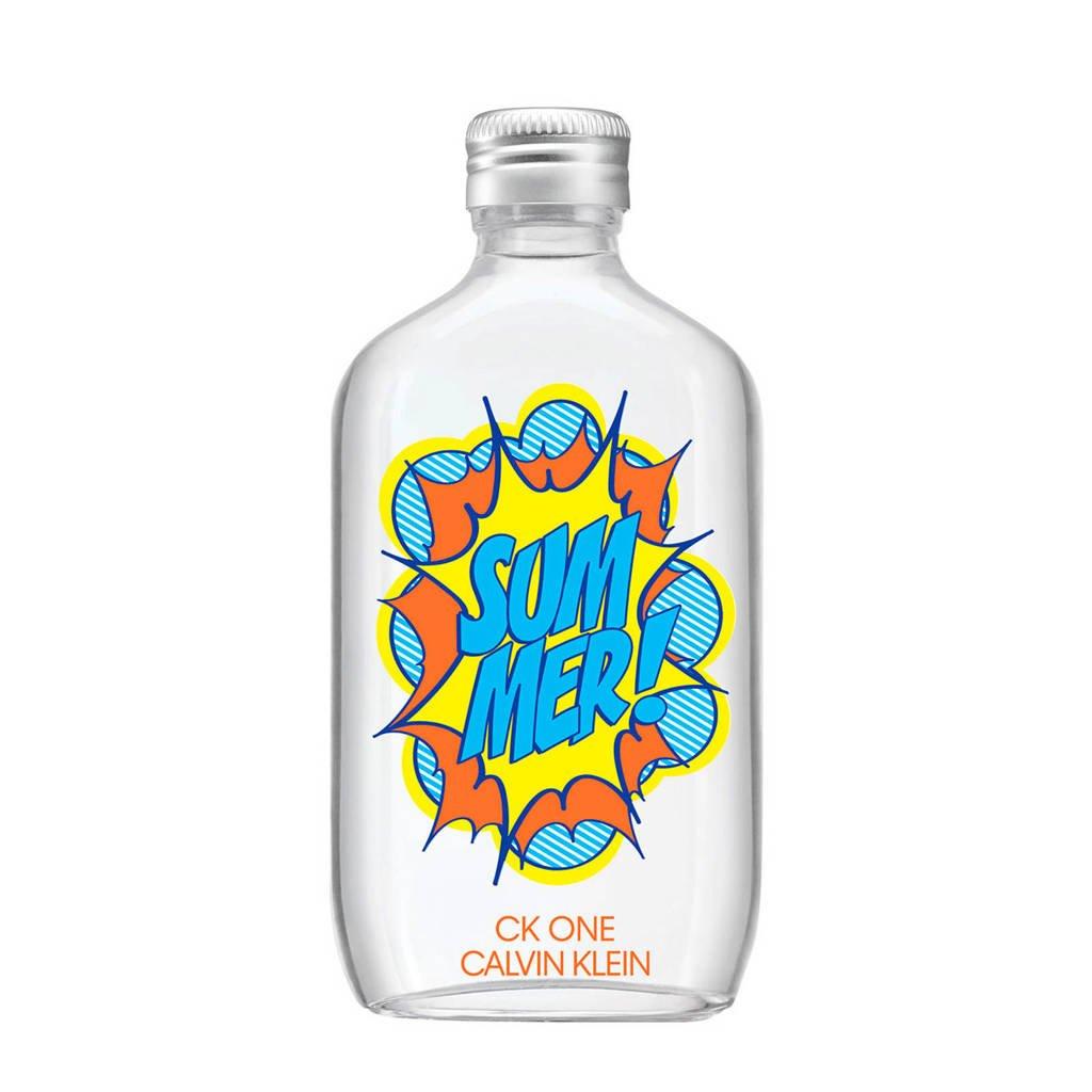 CALVIN KLEIN One Summer 2019 edition eau de toilette - 100 ml