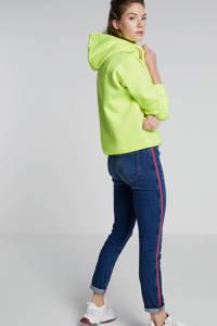 Cars hoodie neon geel, Neon geel