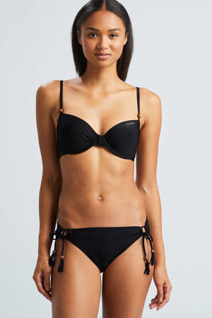 beugel bikinitop uni zwart