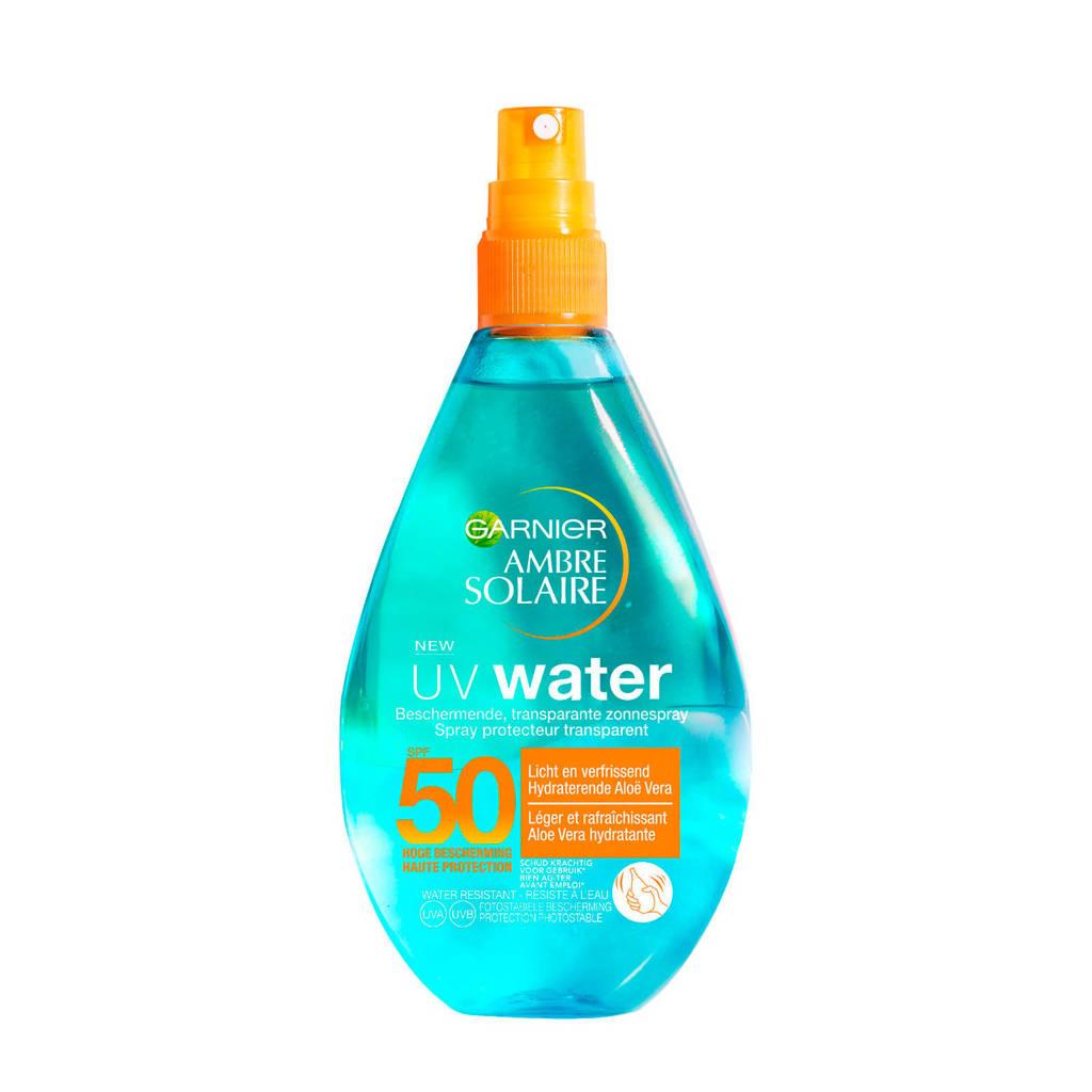 Garnier Ambre Solaire aloe water - zonnebrand factor 50