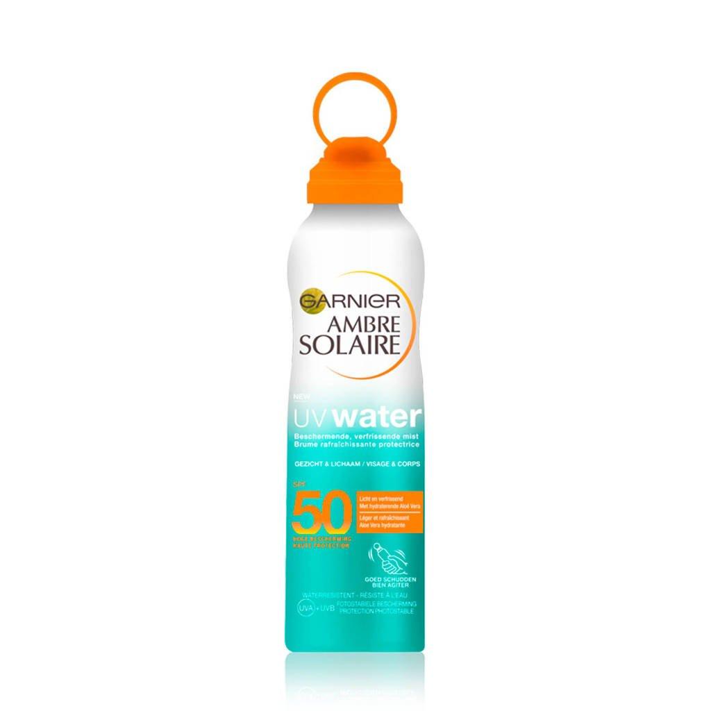 Garnier Ambre Solaire aloe water factor 50 - zonbescherming, Zonnefactor SPF 50