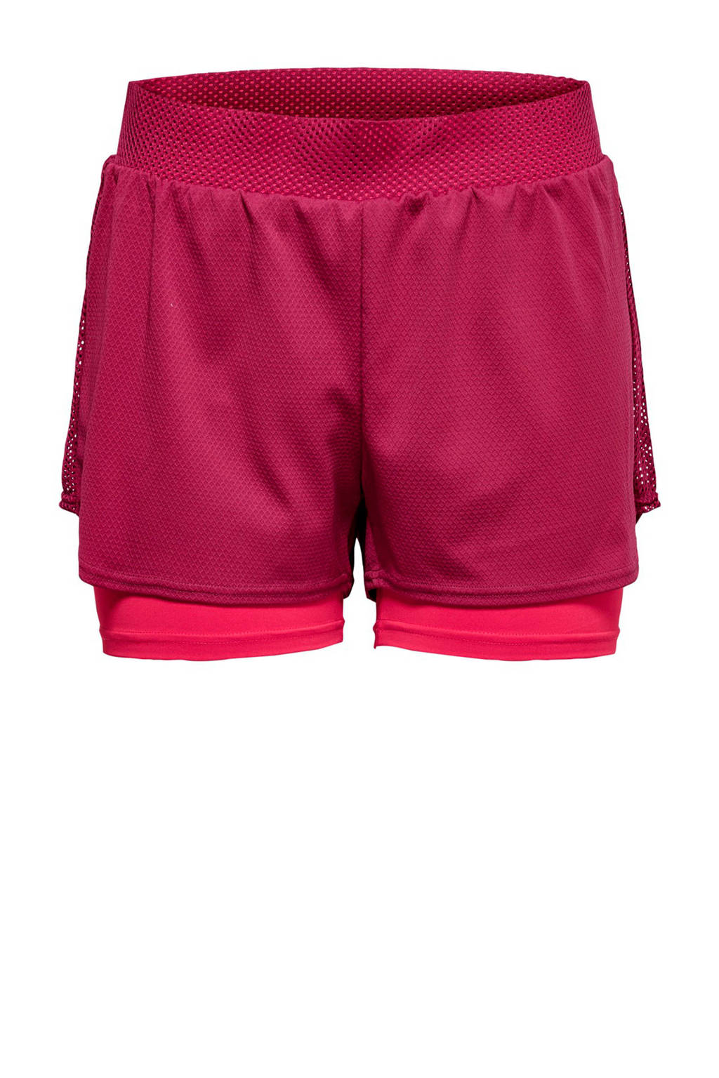 Only Play sportshort roze, Roze