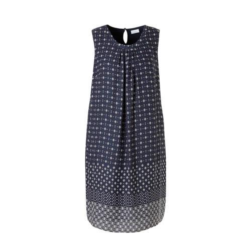 C A XL Yessica jurk met allover print donkerblauw, Deze damesjurk van Yessica XL uit de C&A-collectie is gemaakt van viscose. De jurk heeft een all-over print. Het model heeft een knoopsluiting. Het mouwloze model is voorzien van een ronde hals. De jurk heeft een voering en heeft als basiskleur donkerblauw.Extra gegevens:Merk: C&AKleur: BlauwModel: Jurk (Dames)Voorraad: 9Verzendkosten: 0.00Plaatje: Fig1Maat/Maten: 44/46Levertijd: direct leverbaarAanbiedingoude prijs: € 34.90