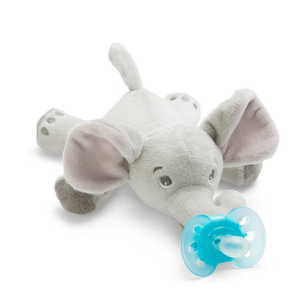 Philips AVENT Snuggle SCF348/13 speenknuffel olifant