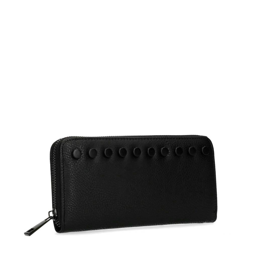 Sacha portemonnee zwart, Zwart