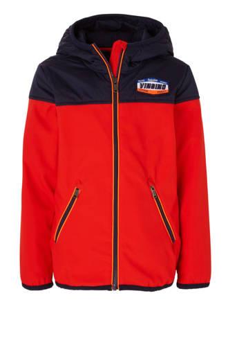 zomerjas Tirolo rood/donkerblauw