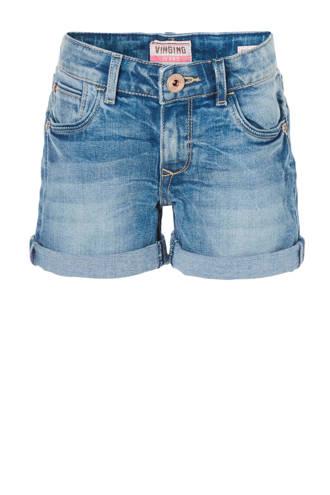 skinny jeans short Dantonia lichtblauw