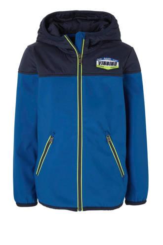zomerjas Tirolo blauw/donkerblauw