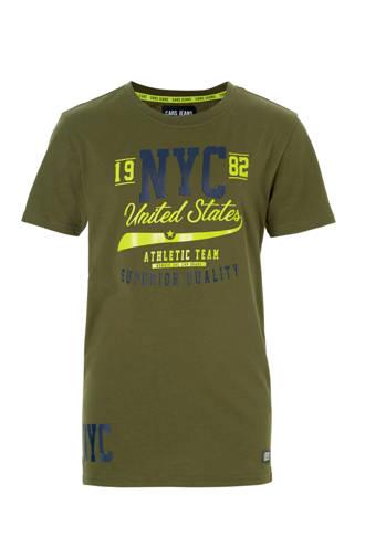 T-shirt Bury met print army