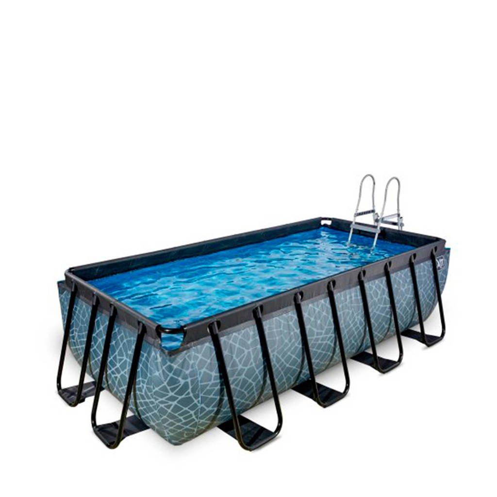 EXIT Frame Pool 4x2x1m grijs