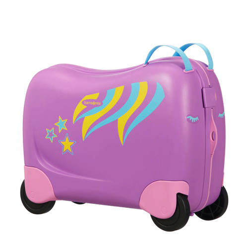 Samsonite koffer Dream Rider ride-on roze kopen