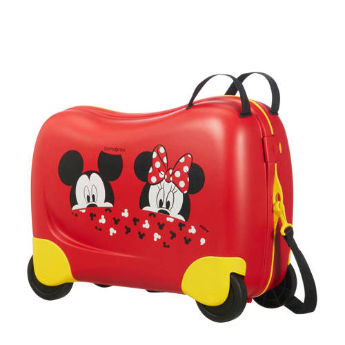 Samsonite koffer Dream Rider ride-on rood/geel kopen