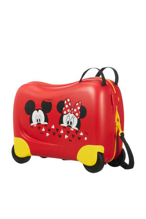 koffer Dream Rider ride-on rood/geel