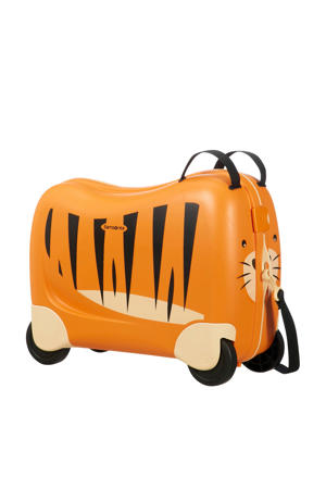 koffer Dream Rider ride-on oranje
