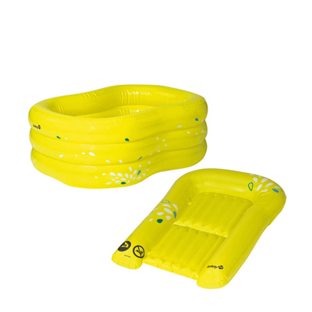 Safety 1st baby bad en verschoonmat lime, Lime