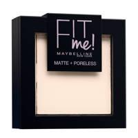 Maybelline New York  Fit Me Matte & Poreless 100 Warm Ivory - Poeder