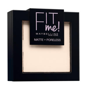 Fit Me Matte & Poreless 100 Warm Ivory - Poeder