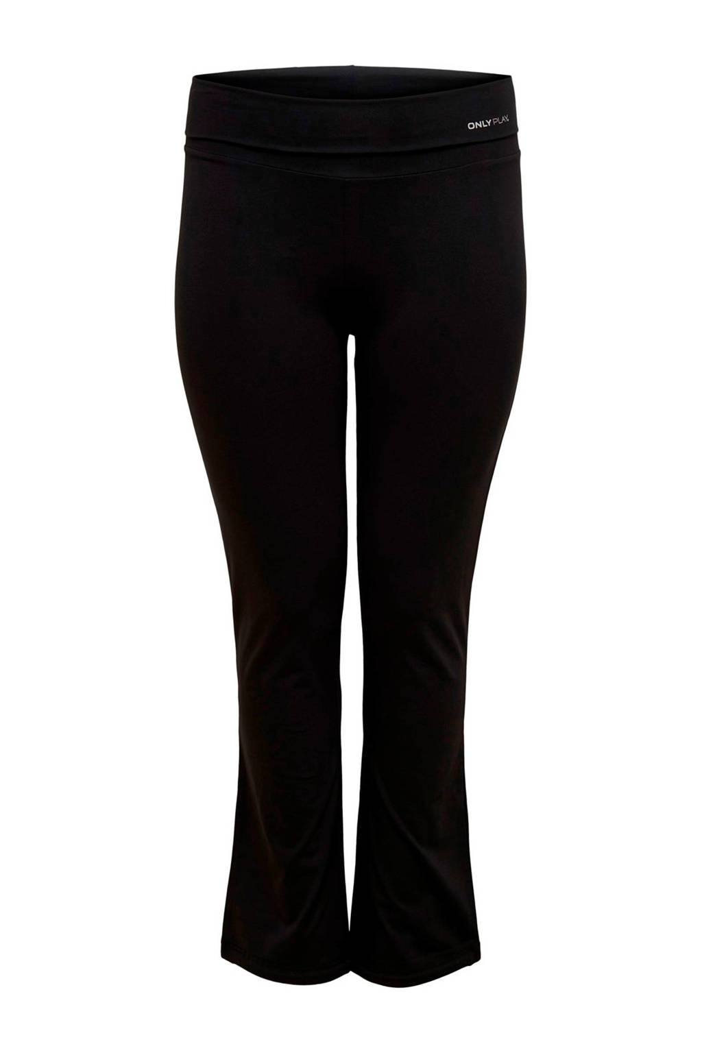 Only Play Curvy regular fit joggingbroek zwart, Zwart