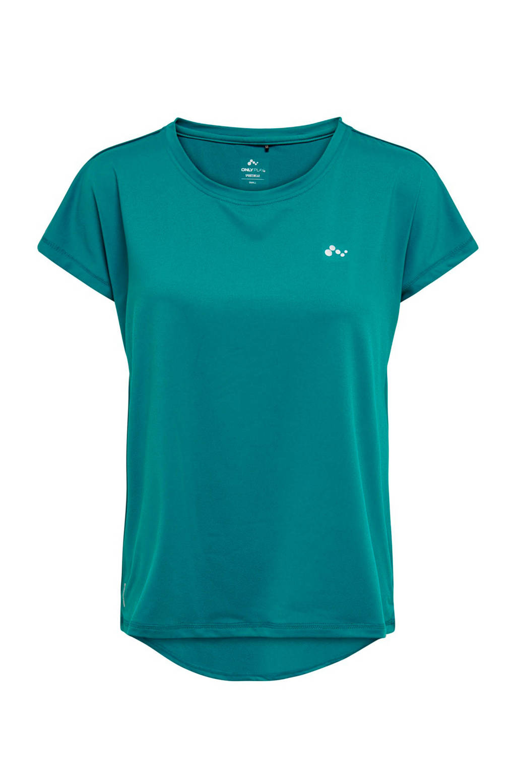 Only Play Curvy sport T-shirt turquoise, Turquoise