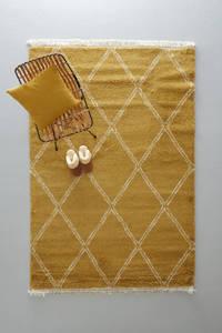 whkmp's own vloerkleed  (230x160 cm), Oker, Beige