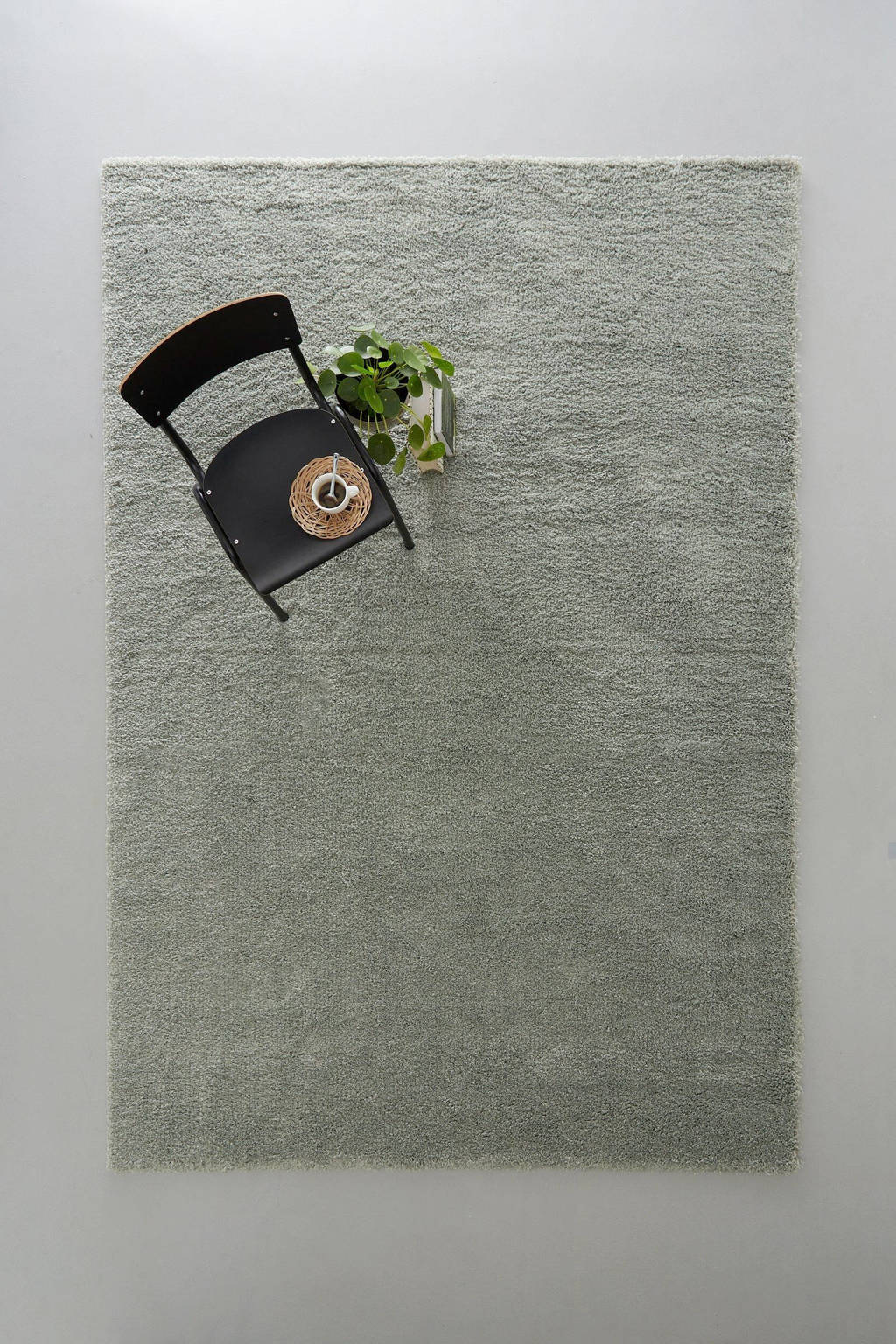 Wehkamp Home vloerkleed  (290x200 cm), Groen
