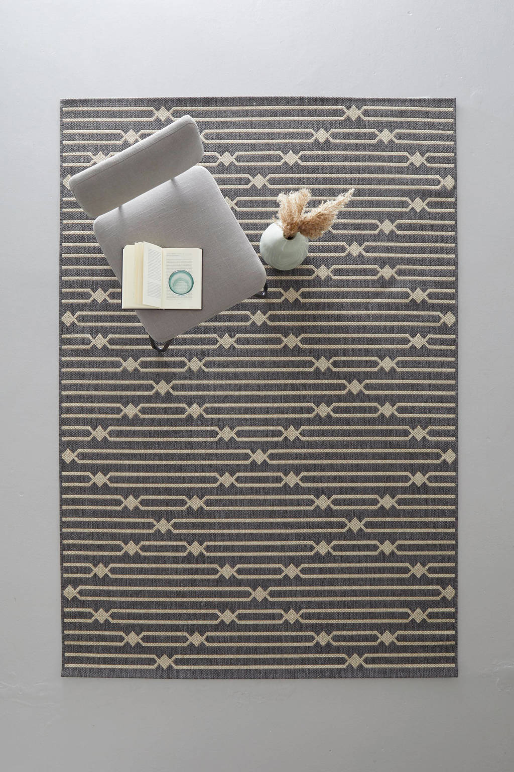 whkmp's own vloerkleed  (160x230 cm), Antraciet