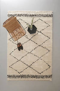Wehkamp Home vloerkleed  (230x160 cm), Crème