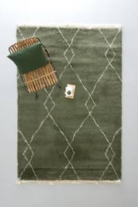 wehkamp home vloerkleed  (230x160 cm), Groen, beige