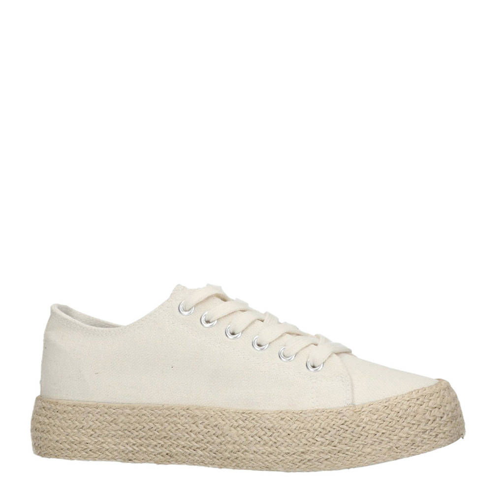 Sacha  plateau sneakers wit, Wit