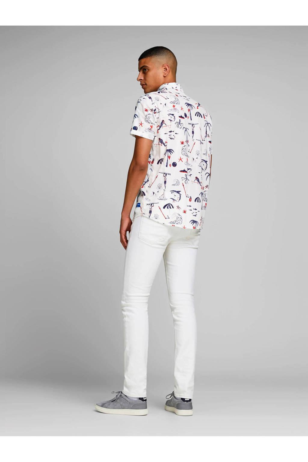 Jack & Jones Originals slim fit overhemd, Wit