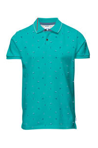 JACK & JONES ORIGINALS slim fit polo, Groen