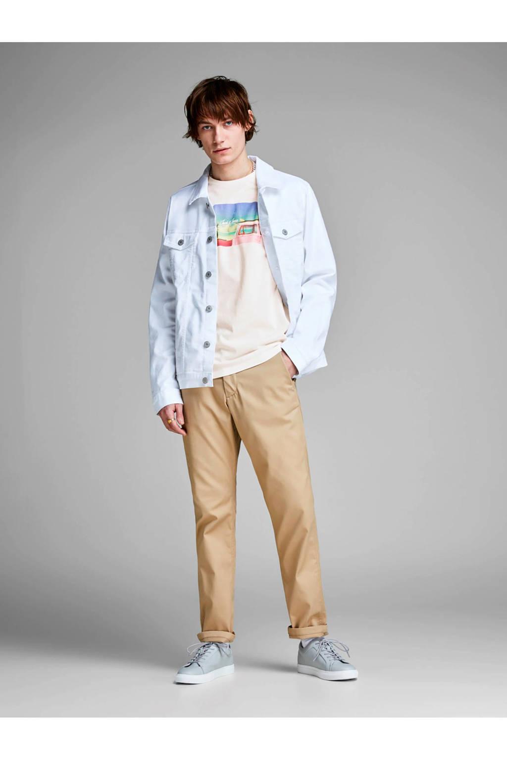 Jack & Jones Originals slim fit T-shirt, Wit