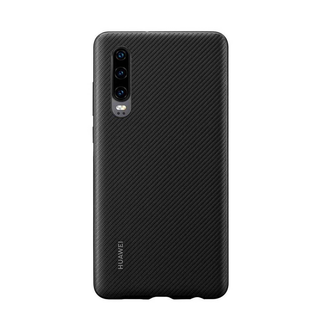 Huawei P30 backcover (zwart), Zwart