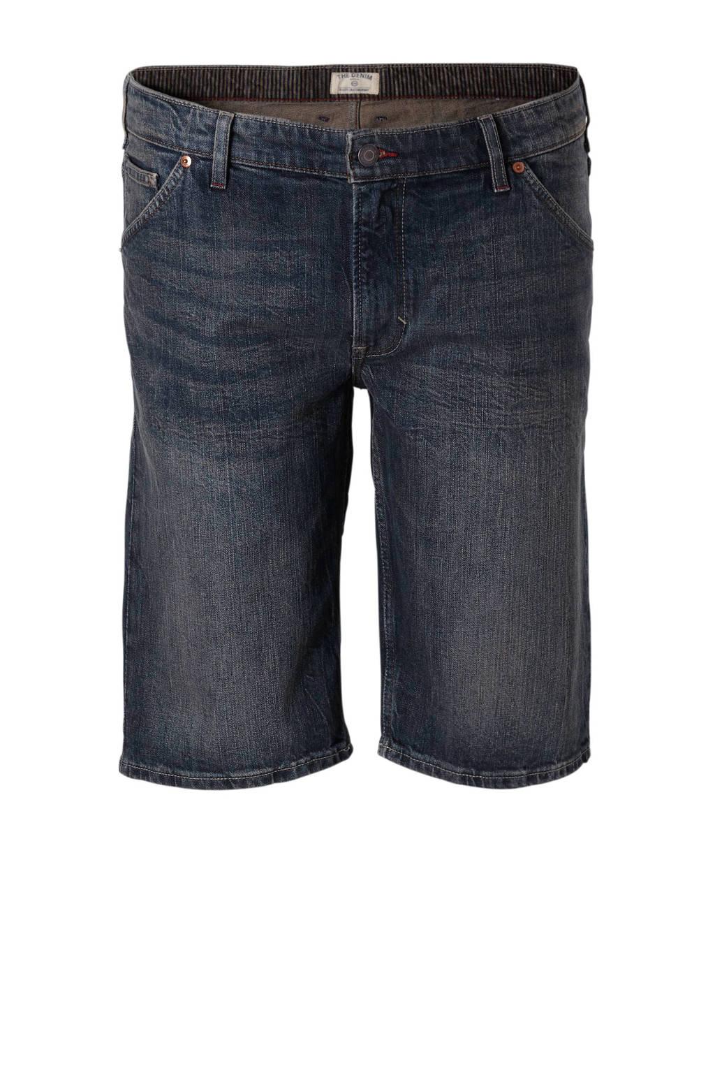 C&A Heren XL regular fit jeans short, Blauw