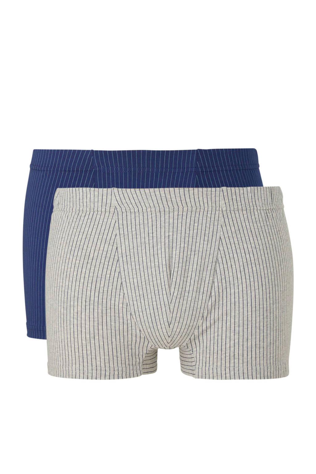 C&A Canda boxershort (set van 2), Blauw/grijs