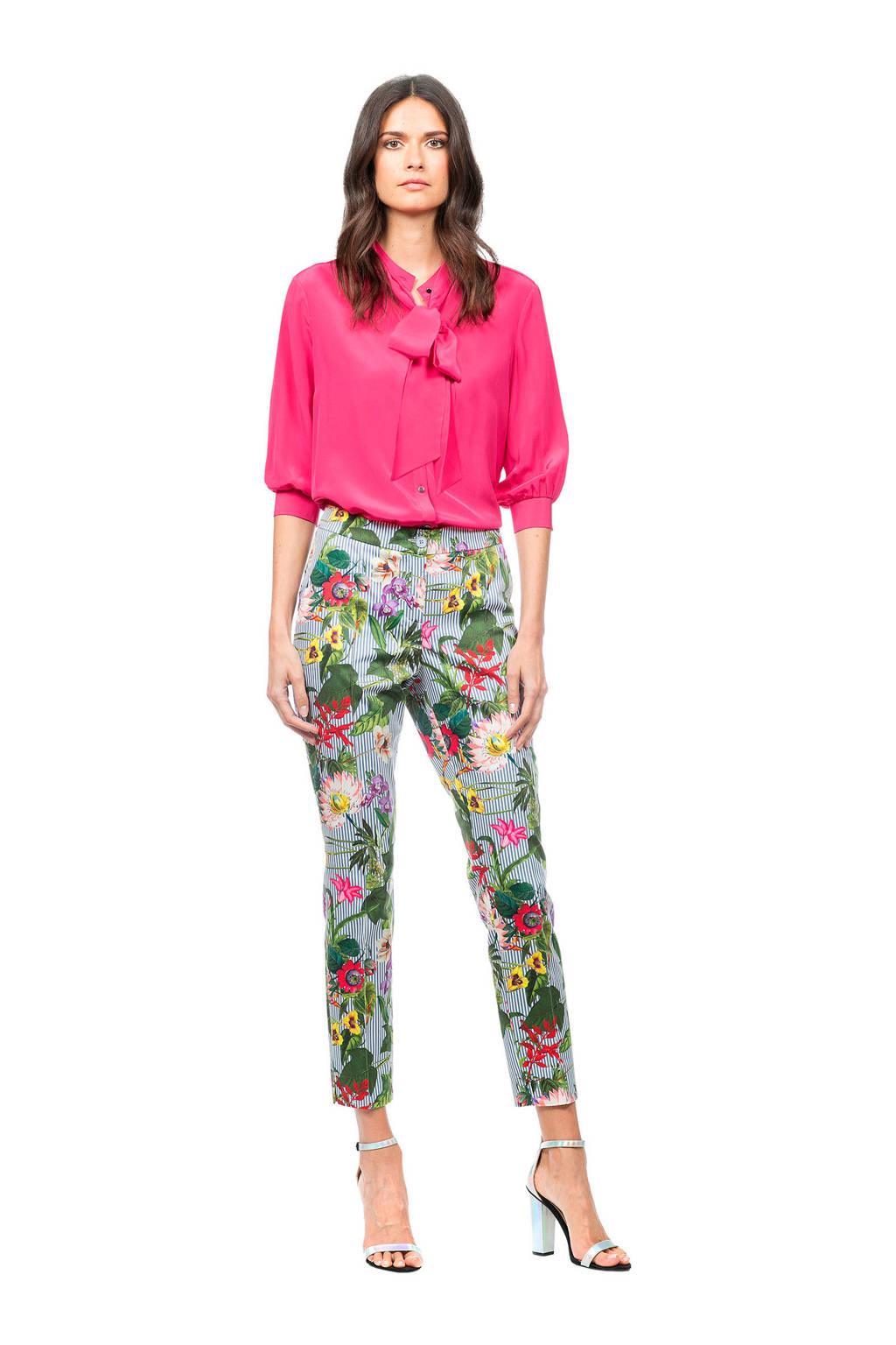 Claudia Sträter zijden blouse roze, Roze
