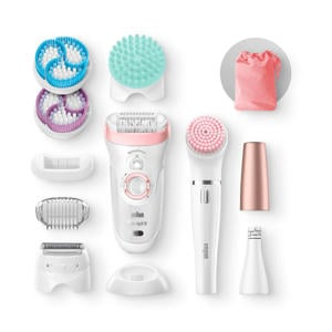 Silk-épil 9-985 epilator beauty set