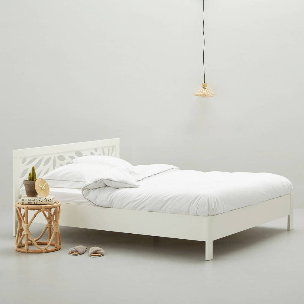 anytime bed Roos  (160x200 cm), Wit