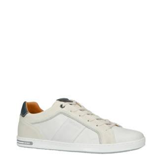 Callum M leren sneakers off white