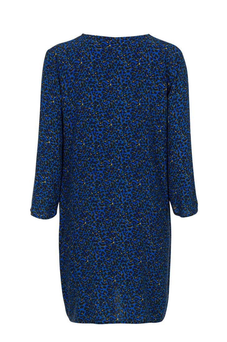 blauw met Regulier Miss Etam tuniek panterprint wnqTA1Uxp