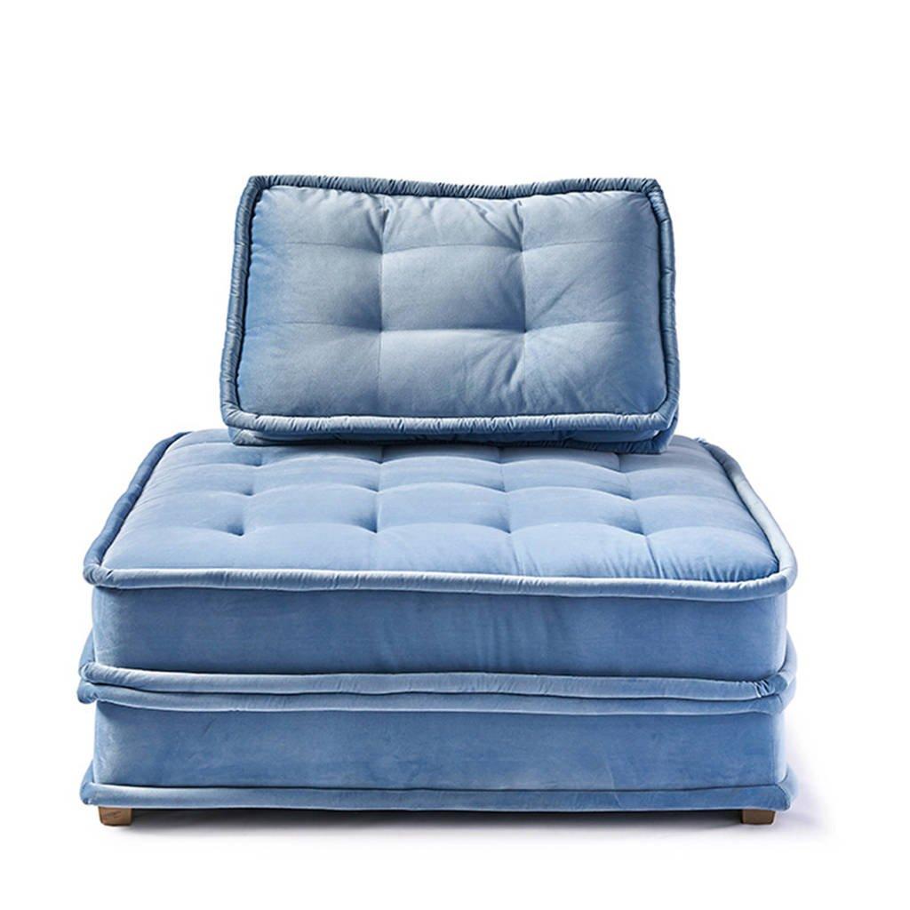 Riviera Maison fauteuil The Uptown Sofa, Lichtblauw