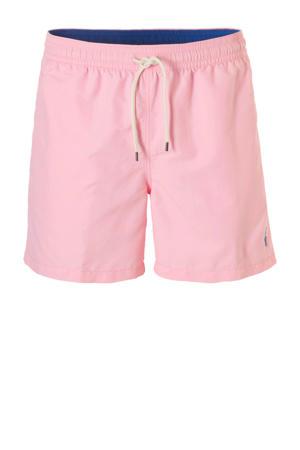 zwemshort met zakken roze