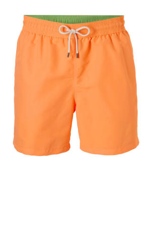 zwemshort met zakken oranje